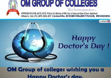 Happy Doctor's Day to our dearest doctors who are always an inspiration for all. Keep motivating us and helping us grow!