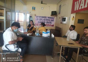 Covid Vaccination Camp at Om Hospital